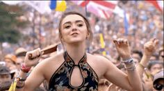 Arya Stark Went To Glastonbury And Had Way More Fun Than All The OtherAttendees