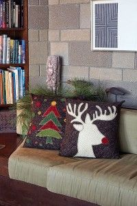 Yuletide Cheer Quilted Pillows