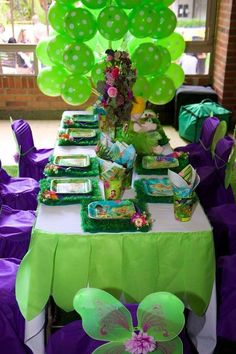 Tinkerbell Birthday Party Ideas | Photo 2 of 14