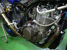 600 x 450 ( Sr 500, Bike Engine, Bike Art, Custom Bikes, Rally, Yamaha, Motorcycles, Engineering, Cars