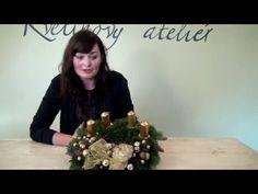 Vyrobte si krásný adventní věnec