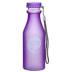 X-TONE BPA FREE Screw Top Pink Dumbbell DRINK BOTTLE  SPORTS Water BOTTLE Gift
