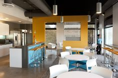 Jive - Breakroom with soft modern colors