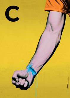 CMYK by Vladimir Petrovic, via Behance
