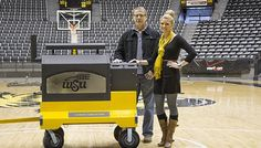 The Wichita State University Shockers will soon be grilling more than just the competition – on a custom Yoder Smokers YS640 pellet cooker. #GoShox #TeamYoder