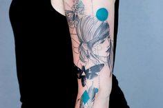 Dead Romanoff Tattoos: Grafische Kunst, die unter die Haut geht