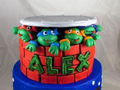 Teenage Mutant Ninja Turtles Cake By Fairydelicious