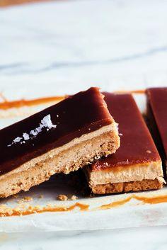Middle Eastern Millionaire's Shortbread by Yotam Ottolenghi: Cookie Recipes Yotam Ottolenghi, Cookie Recipes, Dessert Recipes, Bar Recipes, Sweet Recipes, Yummy Recipes, Halva Recipe, Dessert Cookbooks, Caramel Recipes