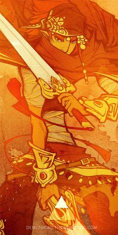 The Legend Of Zelda: The Demon Road | Art