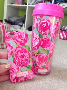 Ashley - do you want these? Lilly phone case and tumbler