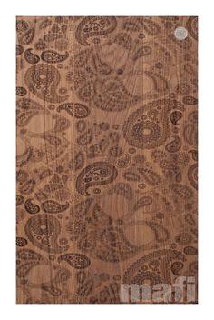 Carving Paisley | Brushed White Oil | MAFI