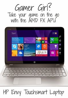 Portable Gaming with the AMD FX APU Gaming Laptop #AMDFX #ad