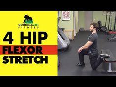 (8) Hip Flexor Stretch | Stretch ALL 4 HIP FLEXOR MUSCLES! - YouTube
