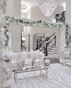 white christmas The Ultimate XMas Decoration Inspiration: Select Decor Pieces