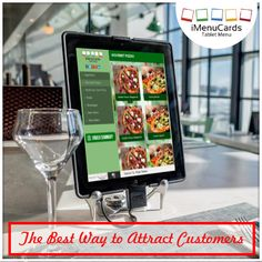 You can attract more customers with tablet menu! Know more here: http://www.imenucards.in  #tabletmenu #imenu #digitalmenu #ordering