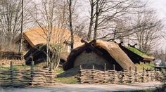 Vikingeboplasden, Viking Village in Denmark