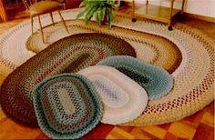 Braided Rugs-pretty, reversible, handmade