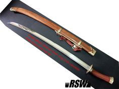 Chinese dao sword like in Qing dynasty.  Officer's sword.