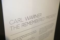 Carl Warner's 'The Remembered Present' exhibition