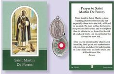 Martin De Porres Relic Medal with Prayer to Saint Martin. Catholic Medals, Catholic Gifts, Catholic Prayers, Prayer Verses, Prayer Cards, Free Prayer Request, Verses For Cards, Saint Quotes, St Francis