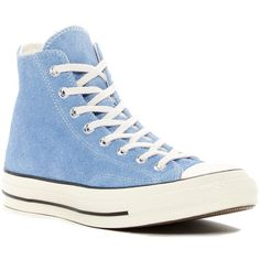 Converse Chuck Taylor All Star 70 High-Top Sneaker (Unisex) ($48) ❤ liked on Polyvore featuring shoes, sneakers, unisex sneakers, pastel sneakers, converse high tops, round toe sneakers and unisex shoes