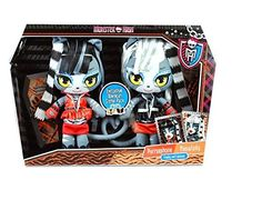 Monster High Toys R Us Exclusive Plush Dolls, Werecat Sisters Purrsephone & Meowlody