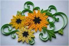 Quilling - card 46 by Eti-chan.deviantart.com on @deviantART