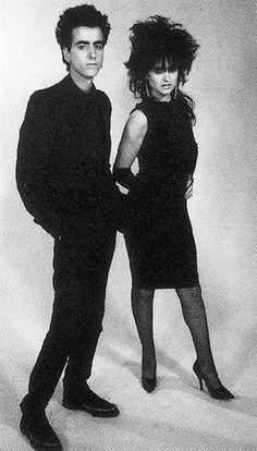 Eduardo Benavente y Ana Curra. Iconos