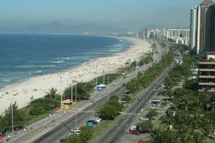 Rio Brazil beach. Photo by TJ Addington