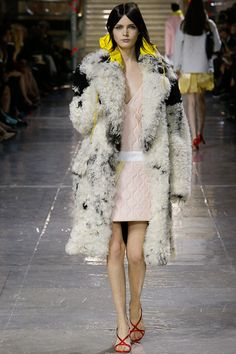 """Miuccia Prada, MIUMIU, Paris Fashion Week,  takes the banal, the ordinary, the everyday and made it desirable, luxurious, and special, so enjoyably witty, subversive, and skewed that it reached new heights of the """"avant-bland."""""""