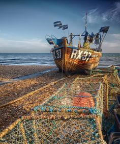 RX37 fishing boat from the Hastings fishing fleet