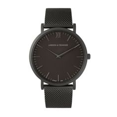 50edb1a7d83 Larsson   Jennings CM Black minimalist watch Marcas De Relogio