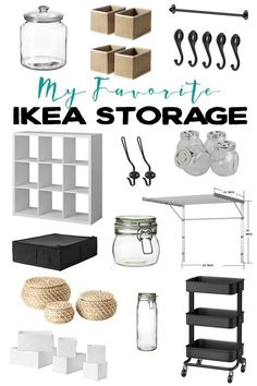 My Favorite IKEA Storage Products. These items are great for organizing different areas of your home. Lebensraum My Favorite IKEA Storage Products. These items are great for organizing different areas of your hom Ikea Organization Hacks, Ikea Hacks, Diy Hacks, Organizing, Ikea Storage, Storage Hacks, Cheap Home Decor, Diy Home Decor, Ikea Must Haves