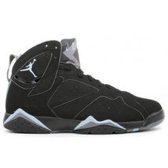 99ad027f3b9571 Buy Authentic 304775-042 Air Jordan 7 (VII) Retro Black Chambray Light  Graphite