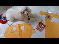 Molde  de roupa para  seu Pet Alana Santos Blogger