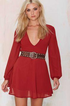 Ada Collection, Eden Belt Nasty Gal defining silhouette over a flowy dress