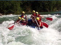 Rafting auf der Isar bei Bad Tölz