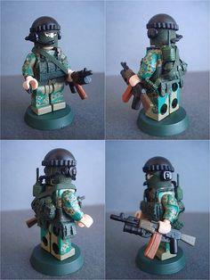 Russian Special Battalion Vostok Custom Minifigure