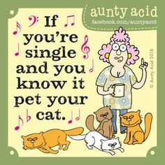Ged Backland's random and witty thoughts on everyday life as told by Aunty Acid and her husband Walt in this Web comic Cartoon Jokes, Funny Cartoons, Funny Me, Funny Jokes, Funny Stuff, Funny Things, Funny Pics, Auntie Quotes, Humor