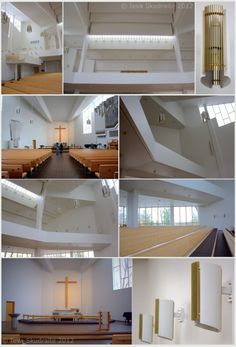 Alvar Aalto Church of the Cross in Lahti, Finland. Alvar Aalto, European Vacation, Helsinki, Lakes, Architects, Contemporary, Design, Home Decor, Finland