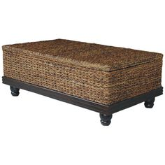 Jeffan Tropical Coffee Table  Stylish and practical.  I'm always looking for more storage.