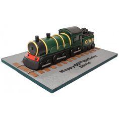 steam engine birthday cake - Google Search