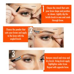 Are your eyebrows on fleek? Here's 3 easy steps to getting fuss free brows!