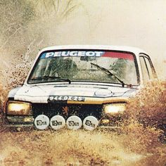 Peugeot 504 in rally competition                                                                                                                                                     More