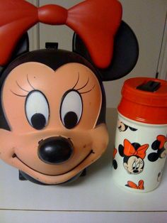 Disney's Minnie Mouse Lunch Box with Thermos Soooooooooooo Cute