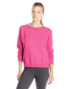Hanes Women's V-Notch Pullover Fleece Sweatshirt at Amazon Women's Clothing store: