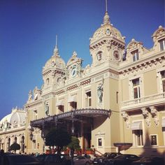 Once in Monte Carlo Casino, Monaco