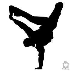 Breakdancer -  Vinyl Wall Decor, Vinyl Decal, wall Decal, wall stickers, väggord, väggtext, väggdekor, Sisustustarra 520_