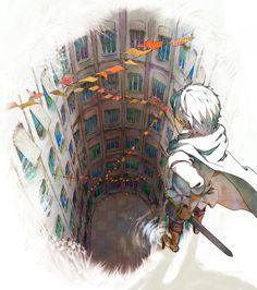 「異世界」/「雨」のイラスト [pixiv]