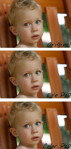 Lightroom tutorial on making eyes pop - great site for photo shopping hints and tips